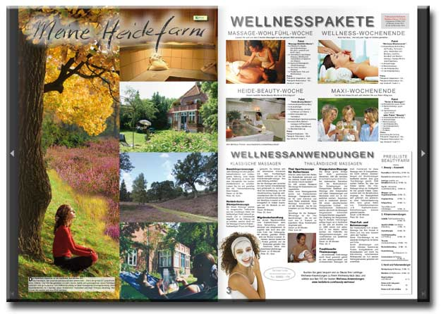 Heidefarm Katalog - Beautyfarm Lüneburger Heide Wellness Lüneburg