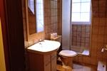 Badezimmer des Landhaus Appartement für 2 - 3 Personen in meiner Heidefarm