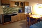 Küchenzeile im Landhaus Appartement für vier Personen in meiner Heidefarm