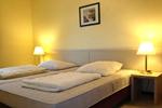 Großes Schlafzimmer im Landhaus Appartement für vier Personen in meiner Heidefarm