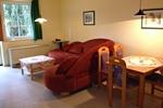 Wohnzimmer im Landhaus Appartement für vier Personen in meiner Heidefarm