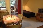 Essbereich des Landhaus Appartement für 2 - 3 Personen in meiner Heidefarm