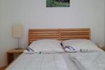 Kleines Schlafzimmer des Komfortferienhaus für 4 Personen in meiner Heidefarm