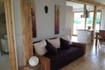 Wohnbereich des Komfortferienhaus für 4 Personen in meiner Heidefarm
