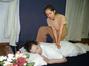 Nuad - Traditionelle thailändische Massage
