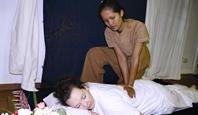 Traditionelle thailändische Massage in meiner Heidefarm TB