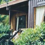Holz-Bungalow - rustikal